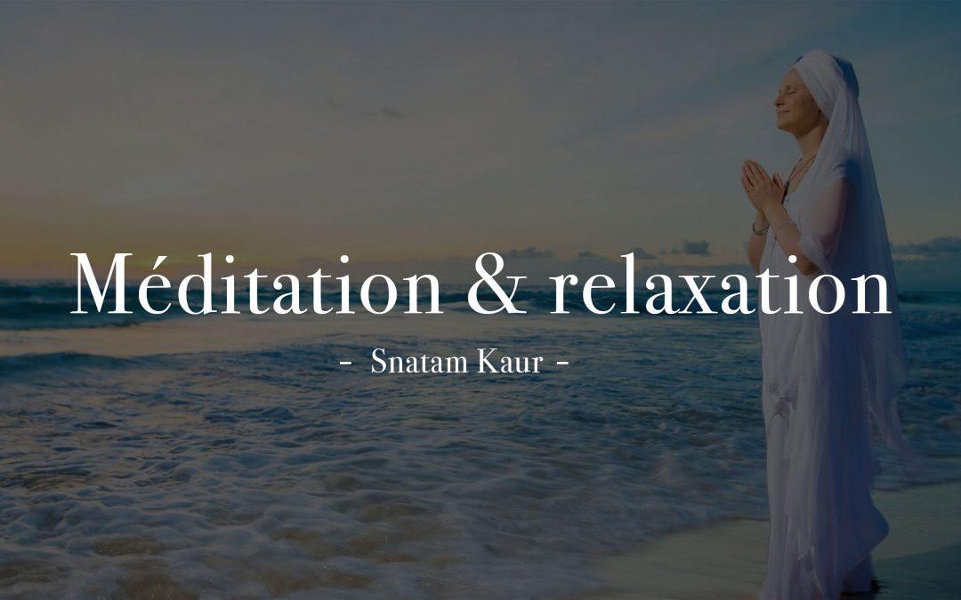 Musiques relaxantes ou méditatives, testées et approuvées !